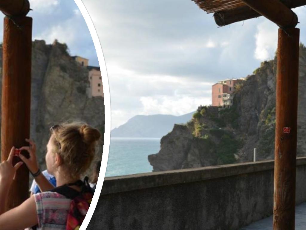 Nolan in Cinque Terre